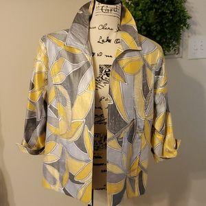 Alfred Dunner lightweight open front jacket/blazer